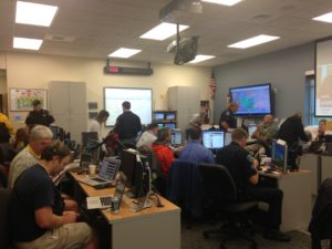 Emergency Operations Center during activation