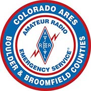 Boulder County Amateur Radio Emergency Services (BCARES) Logo