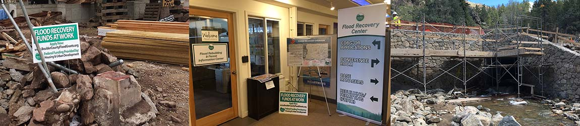 Flood Recovery Banner
