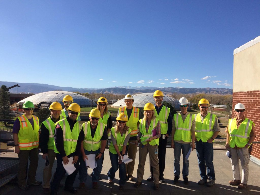 LEPC Facility tour of the City of Boulder's Wastewater Treatment Plant (October 2016)